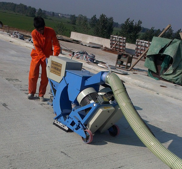 供应生产厂家,路面打毛机混凝土喷砂机