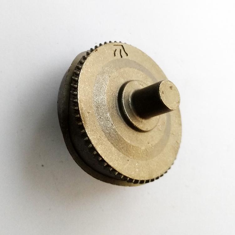 合金钢压花齿轮精密脱蜡铸造加工