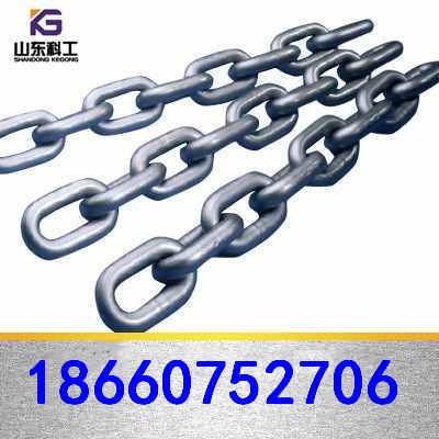 供应山东矿用b级圆环链条型号规格