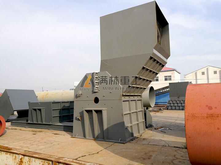 供应南通全自动废铁粉碎机厂家不骄不躁的做
