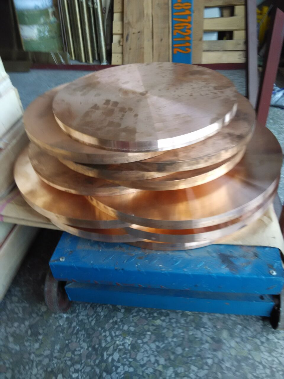 供应c5191弹簧磷铜带分条/镀锡紫铜带