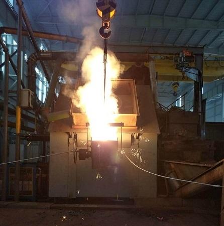 钢壳熔炼炉
