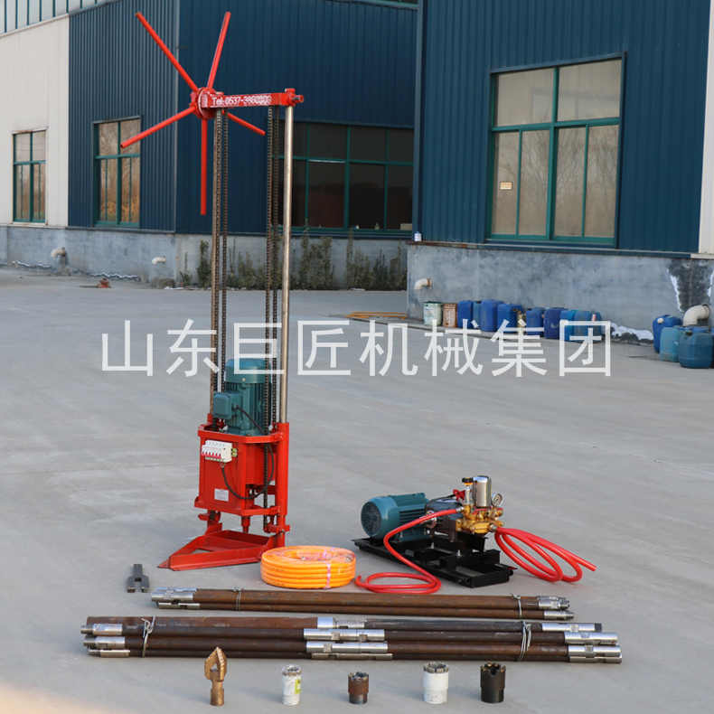 提供巨匠集团QZ-2D型三相电轻便取样钻