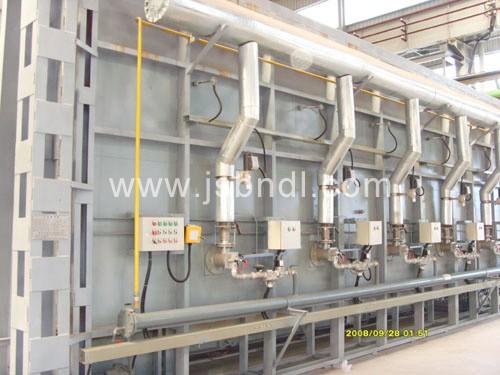 供应 天然气台车炉, 台车炉, 大型台车