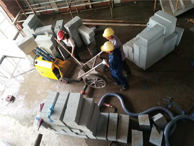 供应二次构造柱浇筑泵效率高是因为这些