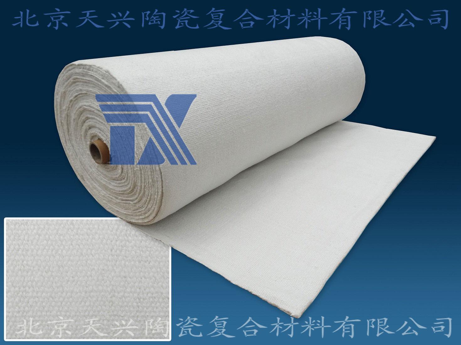 供应304增强陶瓷纤维布2mm*1m*3