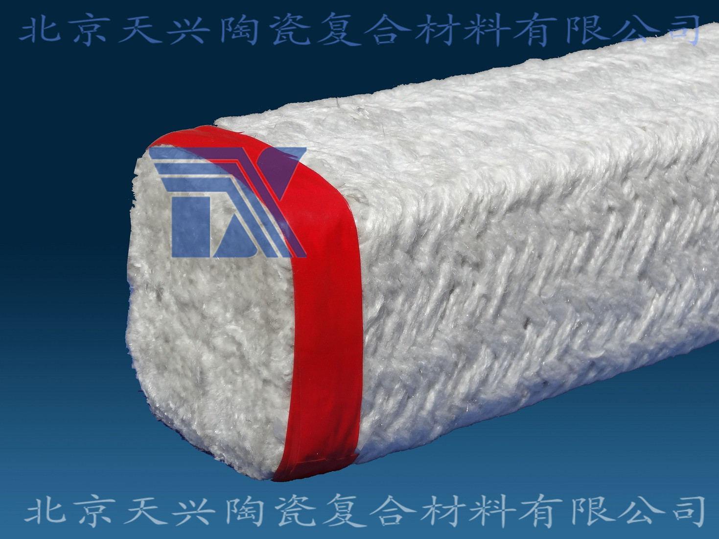 供应陶瓷纤维盘根50/60mm 陶纤密封