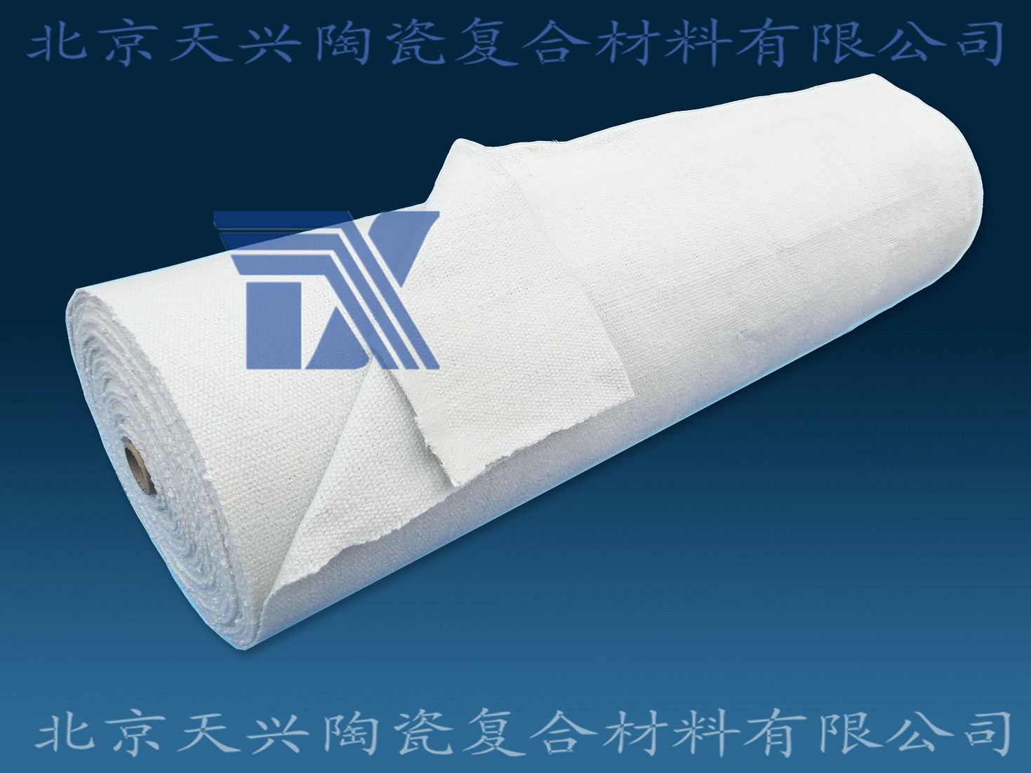 供应玻纤增强陶瓷纤维布3mm*1m*30