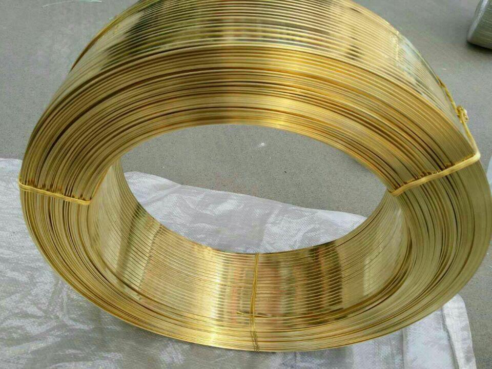 供应h65黄铜方线 t2无氧紫铜线特价