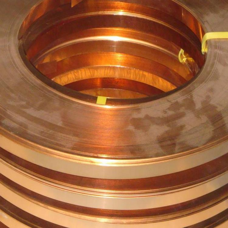 供应紫铜带 背胶紫铜箔 软态黄铜带