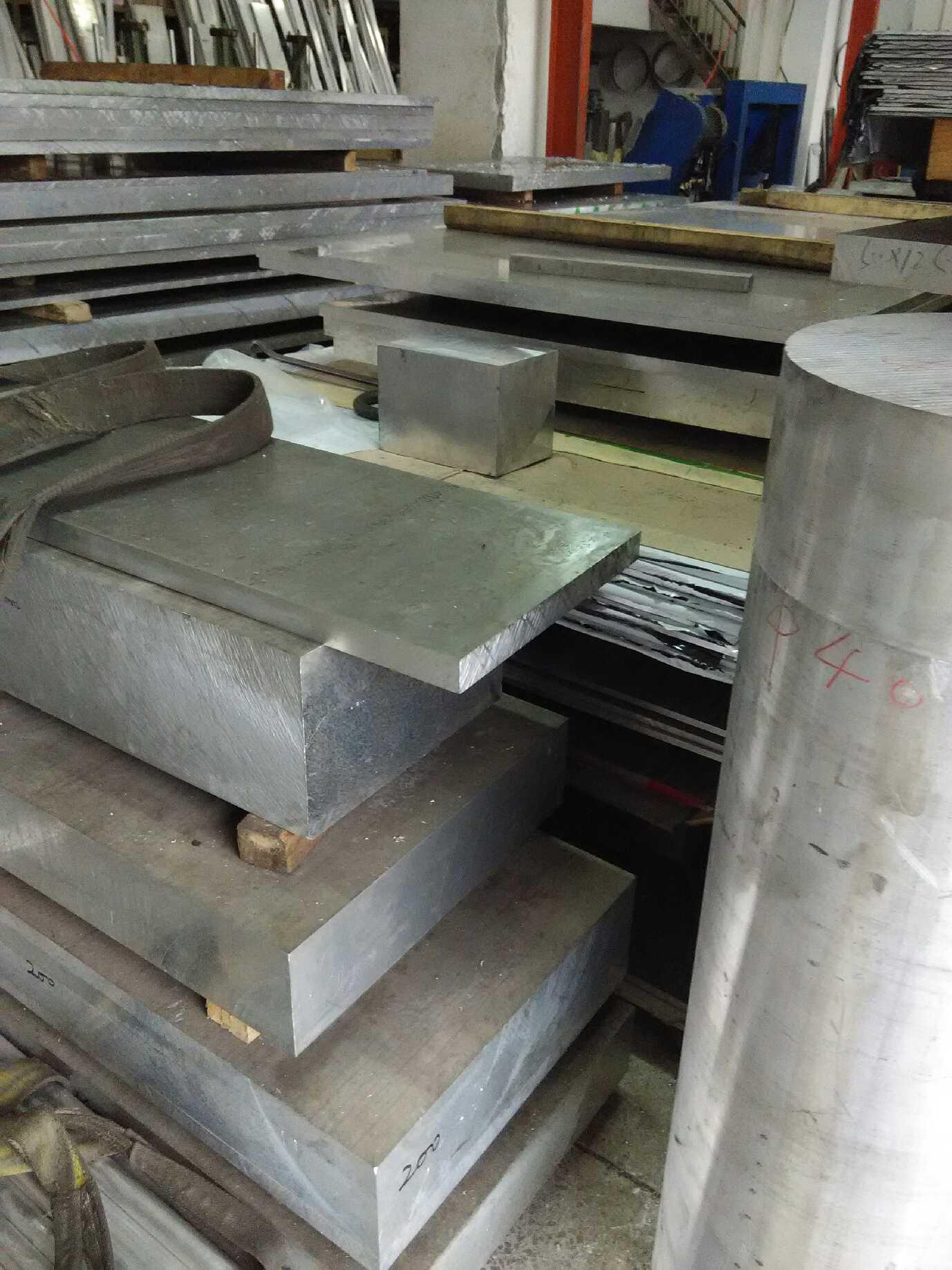 供应6063国标铝棒拉花 武汉铝板