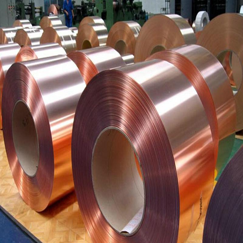 供应c5191磷铜带 磷铜皮 紫铜箔