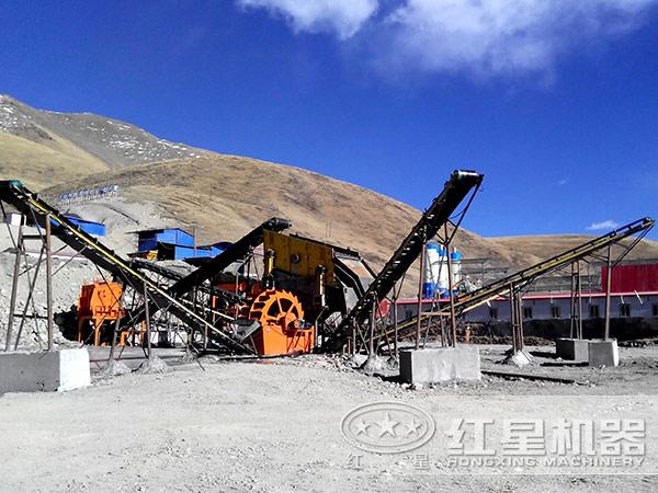 日产300-400吨石子破碎生产线全套设