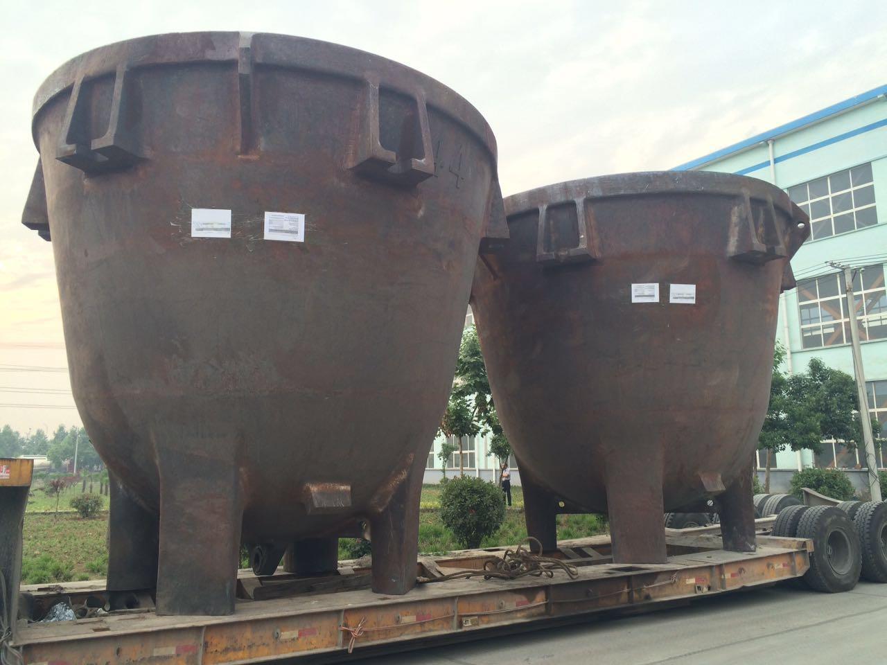 供应12立方渣桶 河北邯郸铸钢厂家