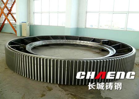 供应湿式球磨机大齿圈 河北棒磨机齿轮厂家