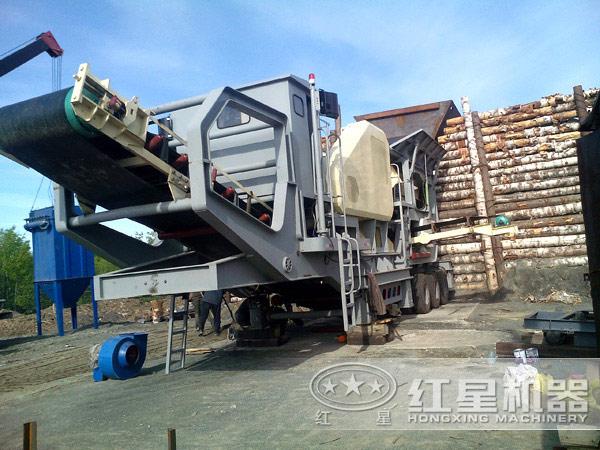 供应河南郑州移动破碎站厂家如何选择LYJ